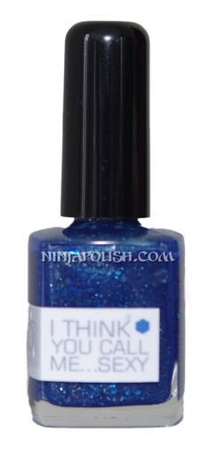 When they're back in stock, I'm going to need some of NerdLacquer's Mad Man with a Box Series polishes. Especially this one - I Think You Call Me...Sexy. I need a sparkly TARDIS blue nail polish!