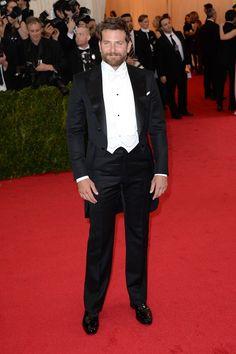 Bradley Cooper in a Tom Ford tuxedo.