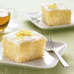 Lemon+Snack+Cake+Recipe+from+Land+O'Lakes