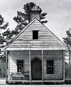 Country Church near Beaufort, South Carolina, by Walker Evans