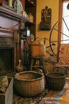 Early Baskets... ~♥~