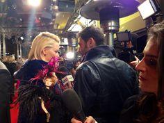 #EffieBarbie doing red carpet interviews
