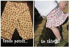 thought this might be a good idea for the niece who won't wear pants!