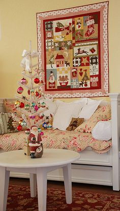 Christmas Quilt by Bunny Hill Designs, via Flickr