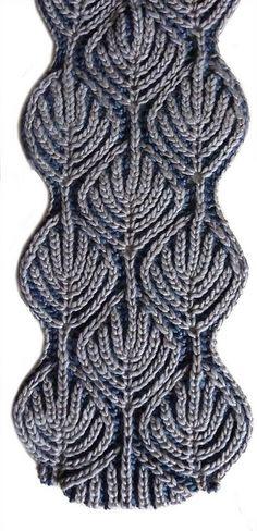 Brioche Stitch  knitting patterns @Af's 18/3/13