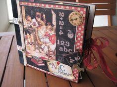 An ABC Primer album by Maribel Plaza Pinto #graphic45 #albums