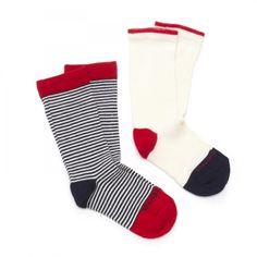 trey lil socks, put rice in it. sew up. perfect for heat pack sailor stripe, socks, kids, kid shit, stripes, sailors, stripe sock
