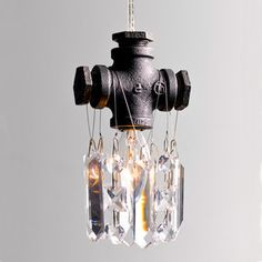 Tribeca Single Bulb Chandelier, $149, now featured on Fab.