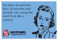 Work Today - #Ecard, #FunnyEcards, #Humor, #Job, #Work