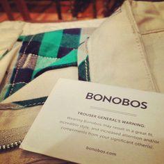 Bonobos warning