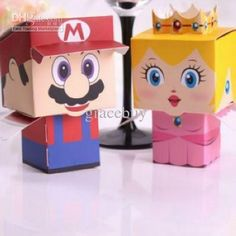 Super mario valentine box.