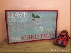 Red Hen Home Christm