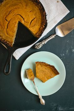 Pumpkin Pie with Latke Crust from @mynameisyeh
