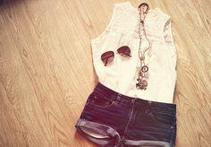 dress up on a sunny day