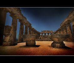 Sicilia: il tempio di Selinunte    Italy - Sicily: the temple of Selinunte