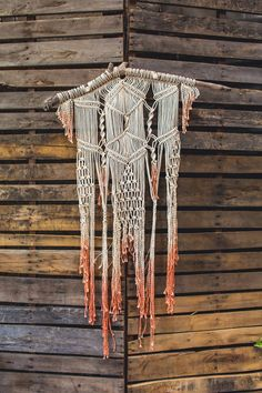 dip dyed macrame, photo by Continuum Photography http://ruffledblog.com/boho-san-diego-wedding #weddingideas #diy