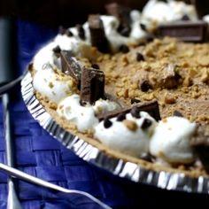 Smores Mousse Pie