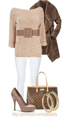 """cheap lv handbags outlet, """"LV Tote & Beige Pumps"""" by casuality on Polyvore,"""