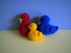 Crochet Duck - the pattern can be obtained here: http://www.ravelry.com/patterns/library/crochet-duck