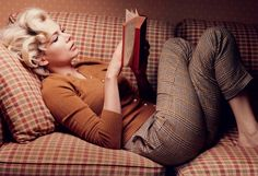celebrities fashion, michell william, marilyn monroe, outfit, book, annie leibovitz, michelle williams, fall styles, vogue covers