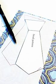 Boys Applique Tie Tutorial/pattern - blogspot.com