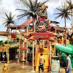 Cliff's Amusement Park offers rides and games for the whole family.