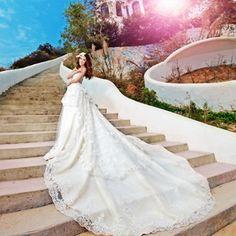 $146.72 long wedding dress for wedding from zzkko.com
