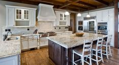 This spacious kitchen is every cook's delight.To see the actual floor plans for this home, click here: http://www.thehousedesigners.com/plan/mansfield-meadows-3252/