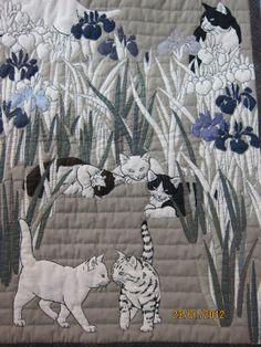 Tokyo Quilt Festival 2012 - cats - photo by Mazie Chan - Веб-альбомы | Picasa