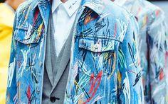 javier barroeta, everyday dress, denim trend