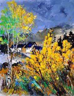 Spring - oil on canvas - Pol Ledent