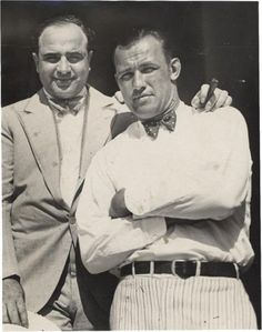 Al Capone with Jack Sharkey
