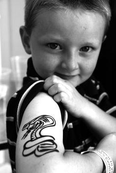 tattoos niños