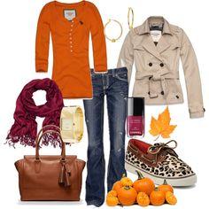 PUMPKIN WEAR!        Is it Fall yet?  I want these Sperry's...super cute!