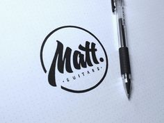 Logo / Matt Guitars