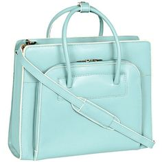 Mcklein Women's Business Tote, Lake Forest Laptop Friendly ($160) ❤ liked on Polyvore
