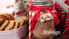 VIDEO-----> Unique Holiday Gifts - Ball Jar Ideas - DIY Gifts - Shindigz