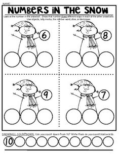 SNOW MATH FUN! Math Pages and Partner Games that Support Common Core. $