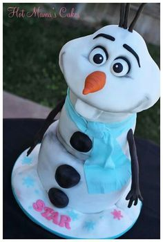 Frozen Character Cake #provestra