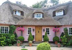 A pretty pink cottage
