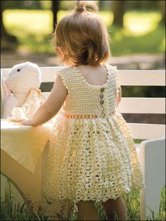 Vanilla Baby Dress