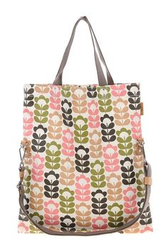 {Orla Kiely Book bag} featured in Vogue Top 100 Bags - love!