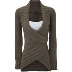 Cozy Sweater - So Cute! wrap sweater, fashion, cloth, style, outfit, fall sweaters, closet, cozy sweaters, thing