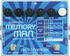 Memory Man stereo #pedal Electro Harmonix