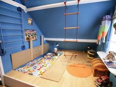 Trap Door Bed | 16 Totally Feasible Loft Beds For Normal Ceiling Heights