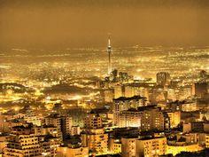 شهر نورها, iran, summer nights, beauti citi, travel, place, light, tehran citi, wanderlust