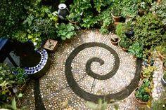 Snail path