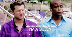 Gus is a queen....