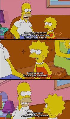 Oh, Lisa Simpson.