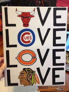 favorite Chicago sports teams!